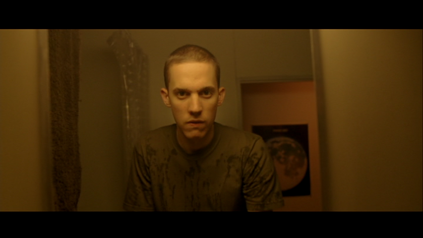 Figure 7 – Oscar looks in the mirror after his DMT trip.