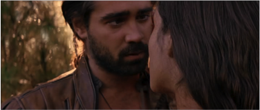Fig. 4:  The New World (Malick, 2005) the love face