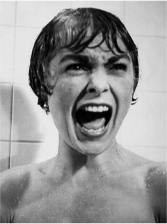 Psycho (Hitchcock, 1960) the horror face