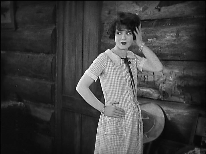 Caption: Clara Bow in Mantrap (1926).