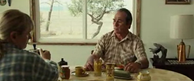 "link to film clip in criticalcommons.org:  ""Ending scene from NO COUNTRY FOR OLD MEN"""