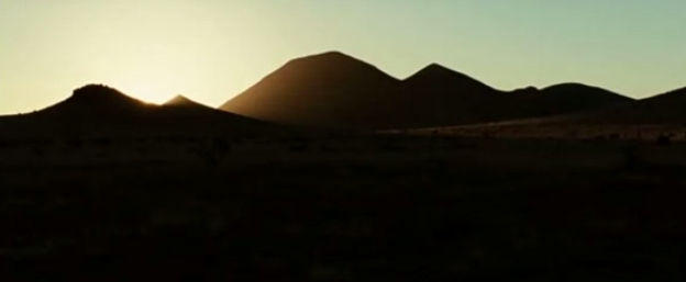 "link to film clip in criticalcommons.org:  ""Opening Sequence from NO COUNTRY FOR OLD MEN"""