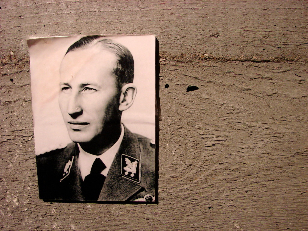 Fig 2: An image of Nazi grandee Reinhard Heydrich at the Lidice Memorial. Photo by Adam Jones, used with Creative Commons license.