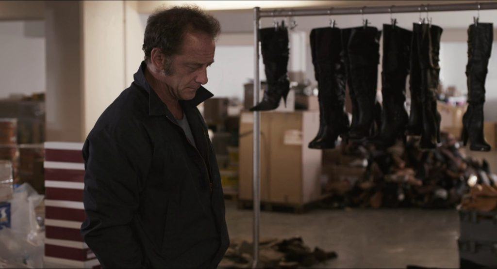 Figure 12: Shoes substitute for the bastardly view of women as surplus. Bastards (Claire Denis, 2013)